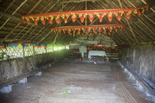Picture of Port Resolution (Vanuatu): Interior of the church of Port Resolution
