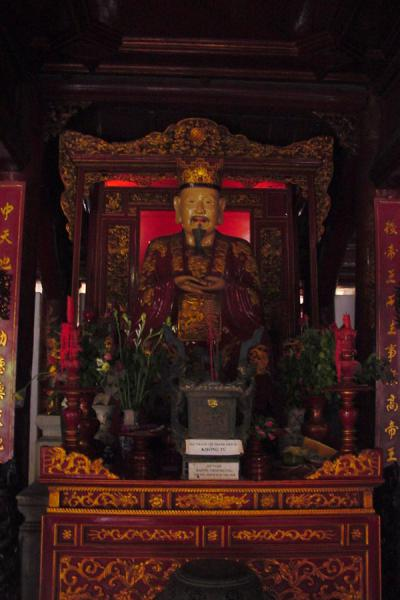 Confucius in the Temple of Literature | Hanoi | Vietnam