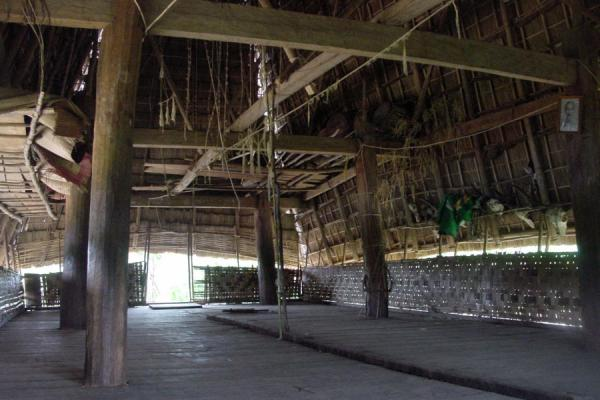 Picture of Inside a rong houseVietnam - Vietnam