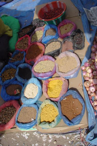Picture of All kinds of spices for saleBait al Faqih - Yemen