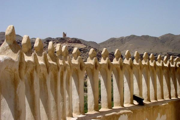 Picture of Dar Al Hajar (Yemen): View from one of the sides of Dar al Hajar or Rock Palace