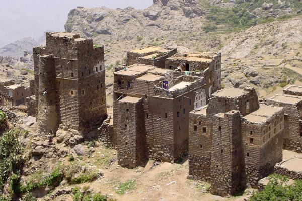 Picture of Haraz Mountains (Yemen): Ismaili village in Haraz Mountains