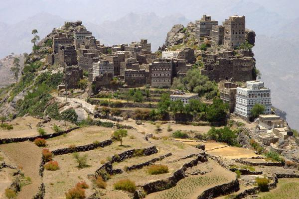 Photo de Yémen (Kahil's stone houses in Haraz mountains)