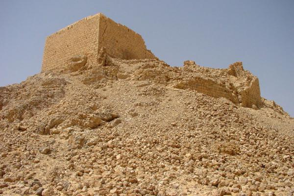 Foto di Part of the fortress from belowWadi Hadramawt - Yemen