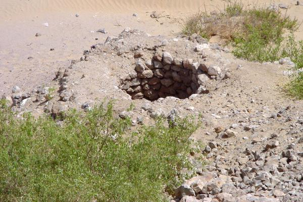 Foto di Water cistern seen from aboveWadi Hadramawt - Yemen