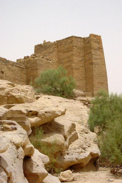 Part of the Northern sluices in the old Marib dam | Marib | Yemen
