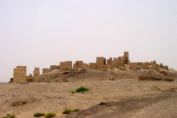 Picture of Marib (Yemen): Old Marib from a distance