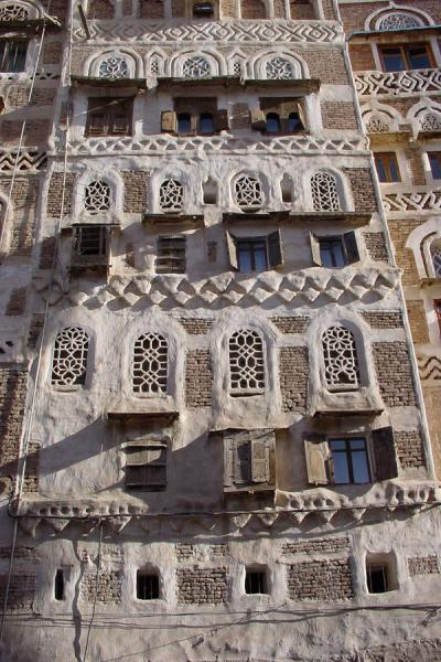 Picture of Old San'a (Yemen): House in Old San'a