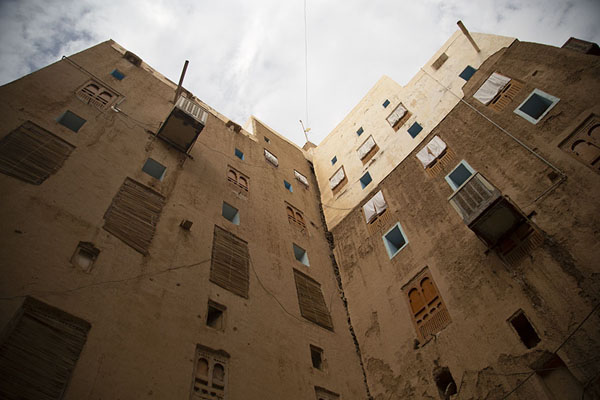 Picture of Shibam: some of the mud skyscrapers in the morning light