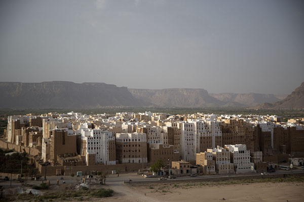 Picture of Shibam (Yemen): Shibam from above