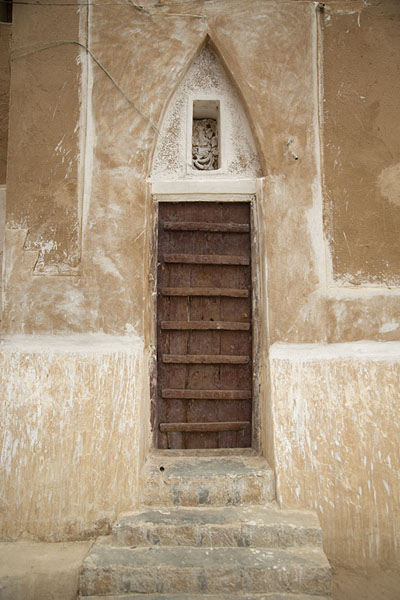 Picture of Shibam (Yemen): A door in Shibam