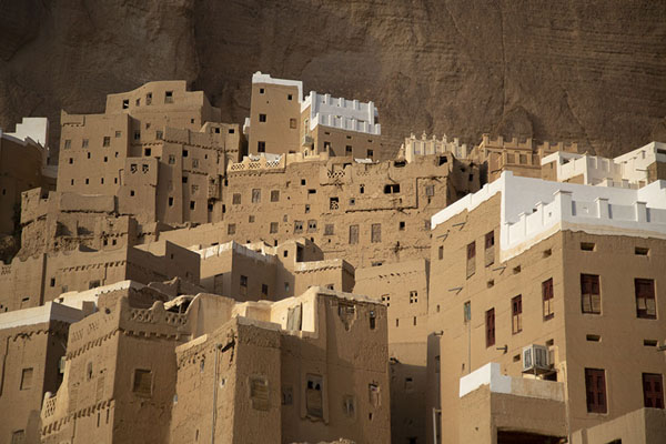 Foto di Some of the mud houses of Wadi DawanWadi Dawan - Yemen