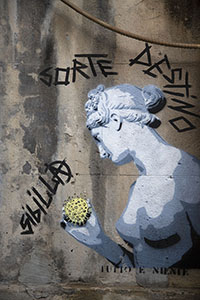 Art with a virus in Palermo, Sicily
