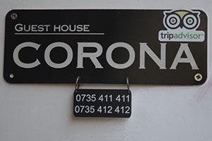 Corona guest house in Romania
