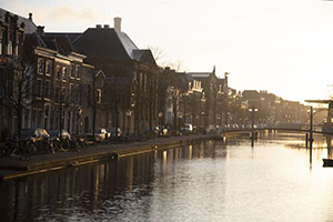 The Oude Singel in the early morning