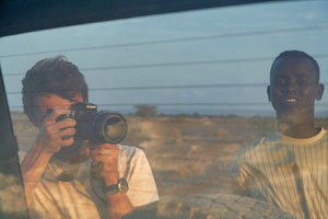 Picture of Boris in Djibouti