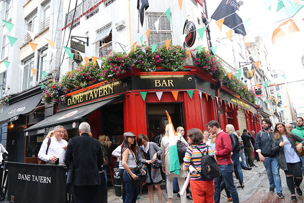 Picture of Ireland193 (Ireland): The Dame Tavern, where we had the Ireland193 party